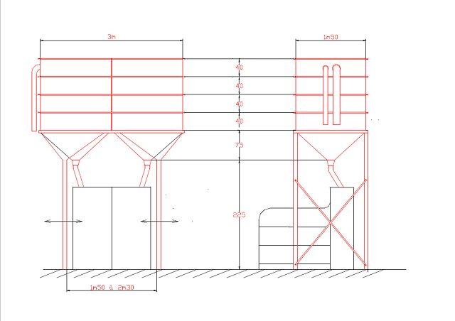 mse silo interieur sur dac stockage grains aliments. Black Bedroom Furniture Sets. Home Design Ideas